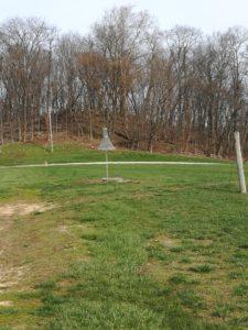 Figure 1. A pheromone trap in the field.