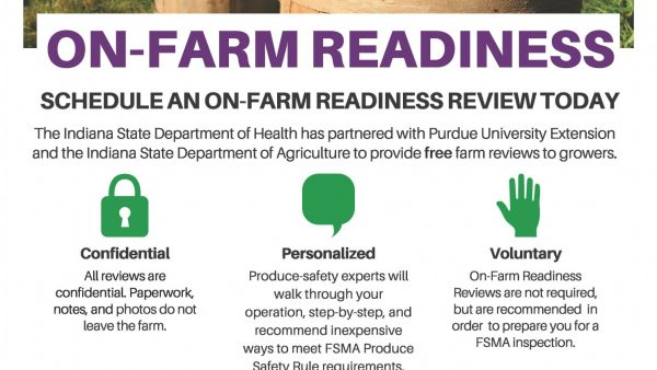 On-Farm Readiness Reviews (OFRR), a Free Resource to Indiana Produce Growers