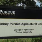 Pinney Purdue Ag Center Sign