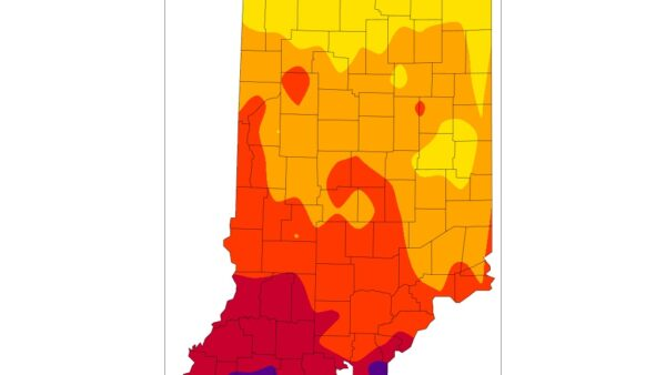 First Time Indiana is Drought Free Since Early June 2020